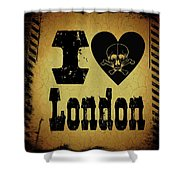 Old London Shower Curtain