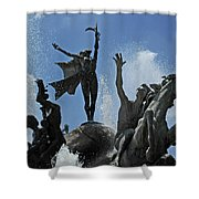 Old San Juan Puerto Rico Shower Curtain