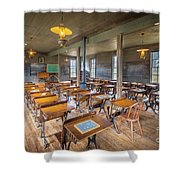 Old Schoolroom Shower Curtain