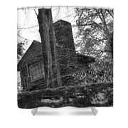 Old Shack Shower Curtain