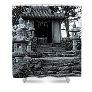 Old Shrine Shower Curtain