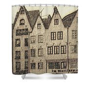 Old Town Of Cologne Shower Curtain