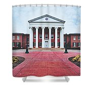 Ole Miss Lyceum Shower Curtain