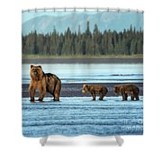 On The Lookout Shower Curtain