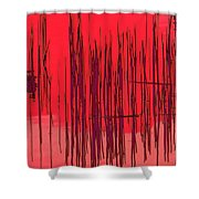 On The Way To Tractor Supply 3 19 Shower Curtain