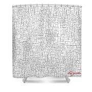 One Liner 15 Jtl Shower Curtain