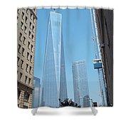 One World Trade Center 4 Shower Curtain
