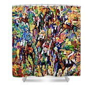 Opening Day Shower Curtain
