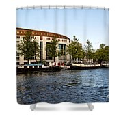 Opera House At The Waterfront Shower Curtain