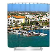 Oranjestad Aruba Shower Curtain