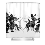 Orchestra Shower Curtain