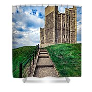 Orford Castle Shower Curtain