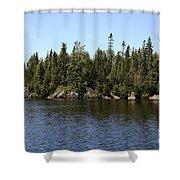 Orphan Lake, Canada Shower Curtain