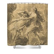 Orpheus And Eurydice Shower Curtain