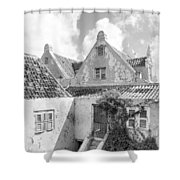 Otrobanda Curacao Shower Curtain