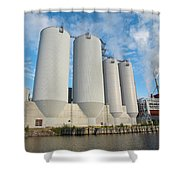 Oulu From The Sea 5 Shower Curtain
