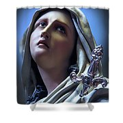 Our Lady Of Sorrows Shower Curtain
