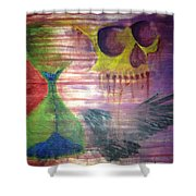 Out Of Time Shower Curtain
