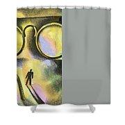 Outlook Shower Curtain