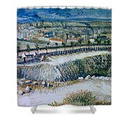 Outskirts Of Paris Shower Curtain
