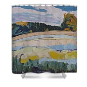 Over Yonder Shower Curtain