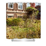 Overgrown Fall Garden Shower Curtain