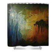 Overhang Shower Curtain