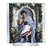 Ovid (43 B.c.-c17 A.d.) Shower Curtain
