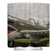 P - 40 Warhawk Shower Curtain