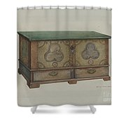 Pa. German Chest Shower Curtain