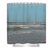 Padre Island National Seashore Shower Curtain