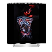 Painful Release Shower Curtain