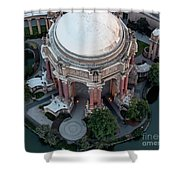 Palace Of Fine Arts Theatre In San Francisco Shower Curtain