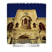 Palace Of The Maharaja Of Tehri-garhwal Near Rishikesh, India Shower Curtain