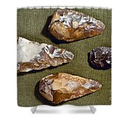 Paleolithic Tools Shower Curtain