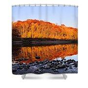Palisades-kepler State Park - Mt. Vernon, Ia Shower Curtain
