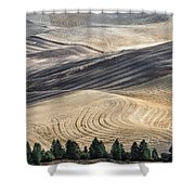 Palouse Field 2740 Shower Curtain