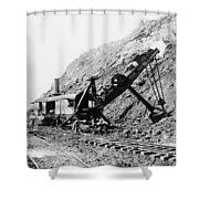 Panama Canal - Construction - C 1910 Shower Curtain