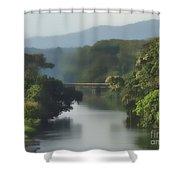 Panama014soft Shower Curtain