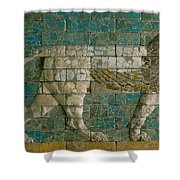 Panel With Striding Lion Shower Curtain