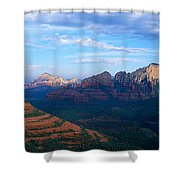 Panoramic View, Sedona, Arizona Shower Curtain