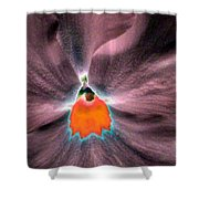 Pansy Power 79 Shower Curtain