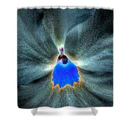 Pansy Power 81 Shower Curtain