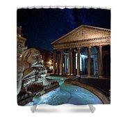 Pantheon Rome Shower Curtain