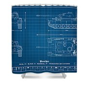 Sd. Kfz. 171. Panzerkampfwagen V - Panther Shower Curtain