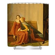 Paolo And Francesca Shower Curtain