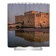 Paphos - Cyprus Shower Curtain