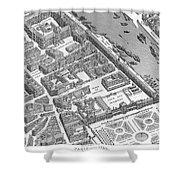 Paris 1730 Shower Curtain