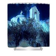 Paros Island Beauty Greece  Shower Curtain by Colette V Hera Guggenheim