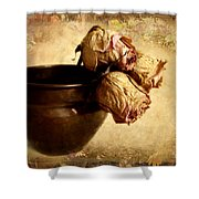 Patina Shower Curtain